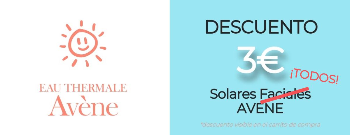 AVENE / Descuento 3€ TODOS los solares