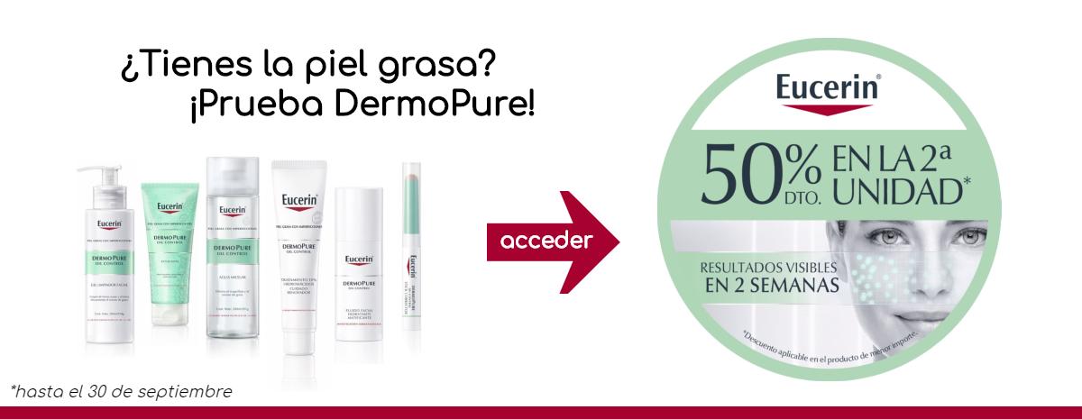 Eucerin / DermoPure 50% dto 2ª unidad