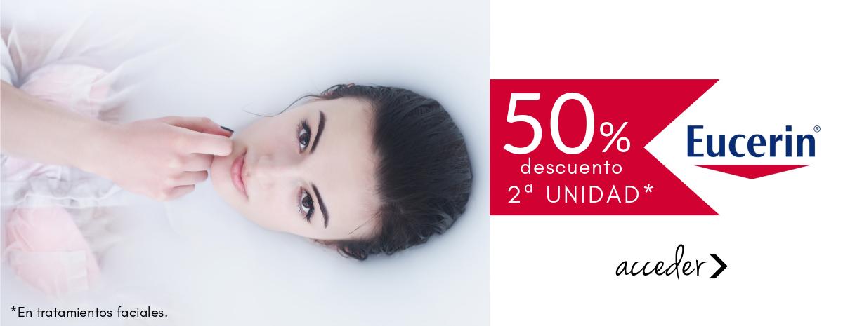 50% de descuento en 2ª unidad - Tratamientos faciales EUCERIN