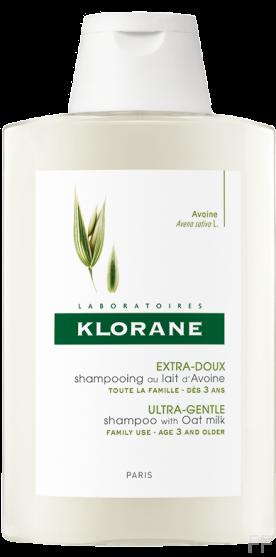 Klorane Champú Extrasuave a la Leche de Avena 400 ml
