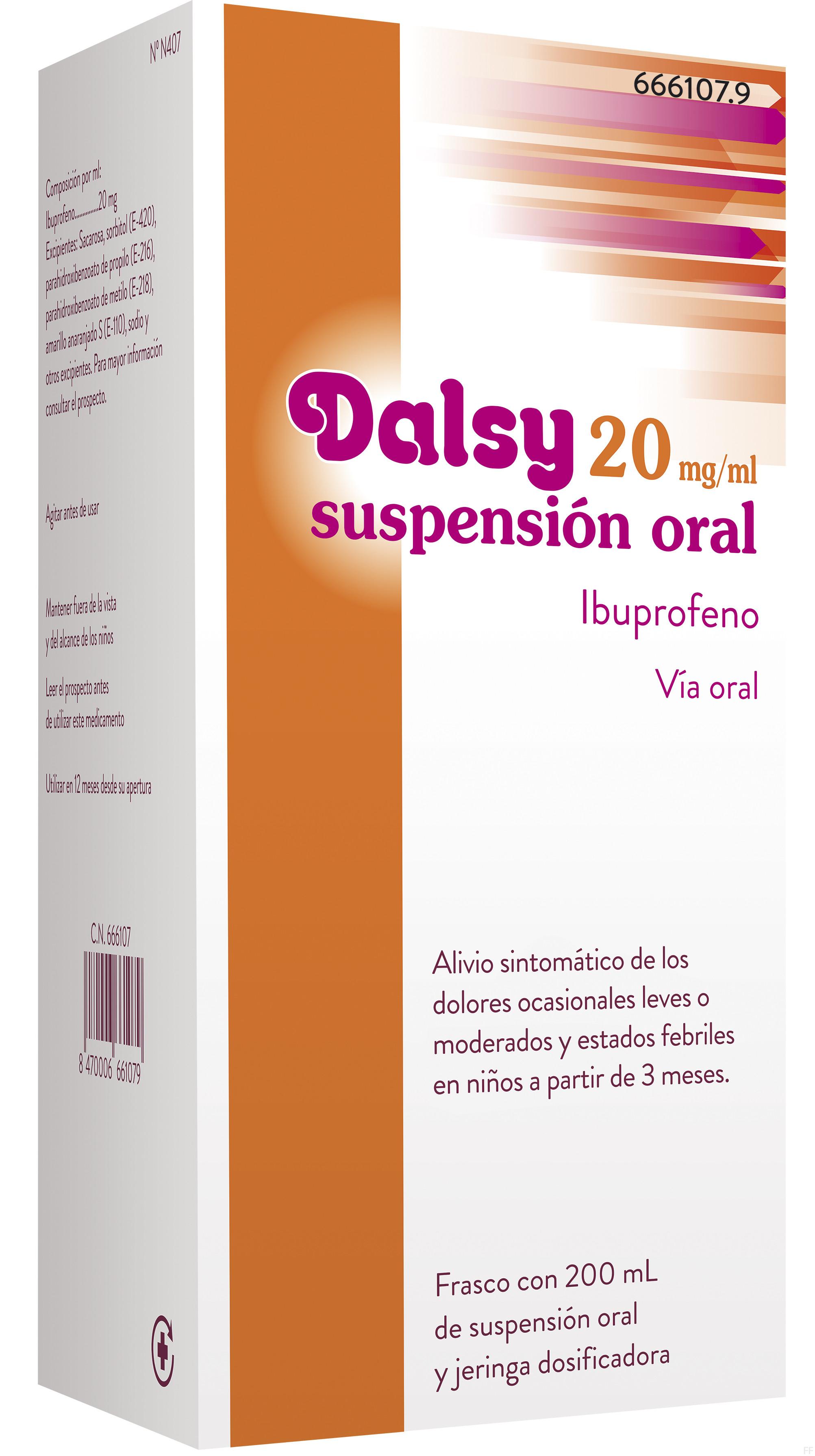 Dalsy 20 mg/ml