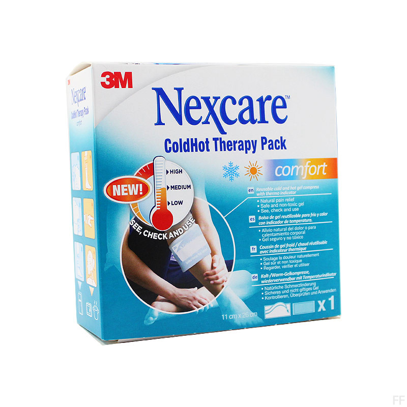 Nexcare Bolsa Terapia Caliente/Frio Comfort 1 unidad 11 x 26 cm