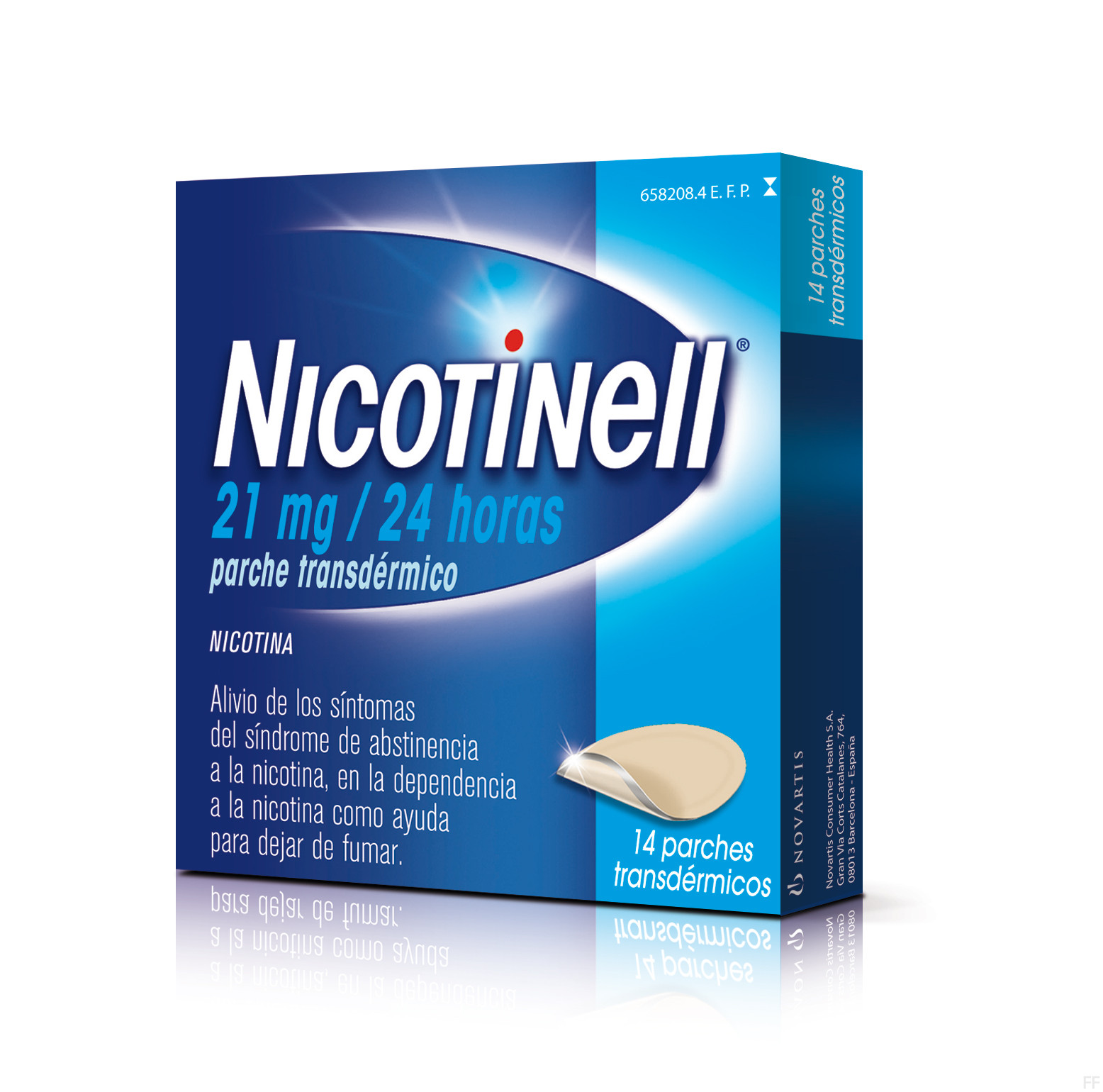 nicotinell 14 parches