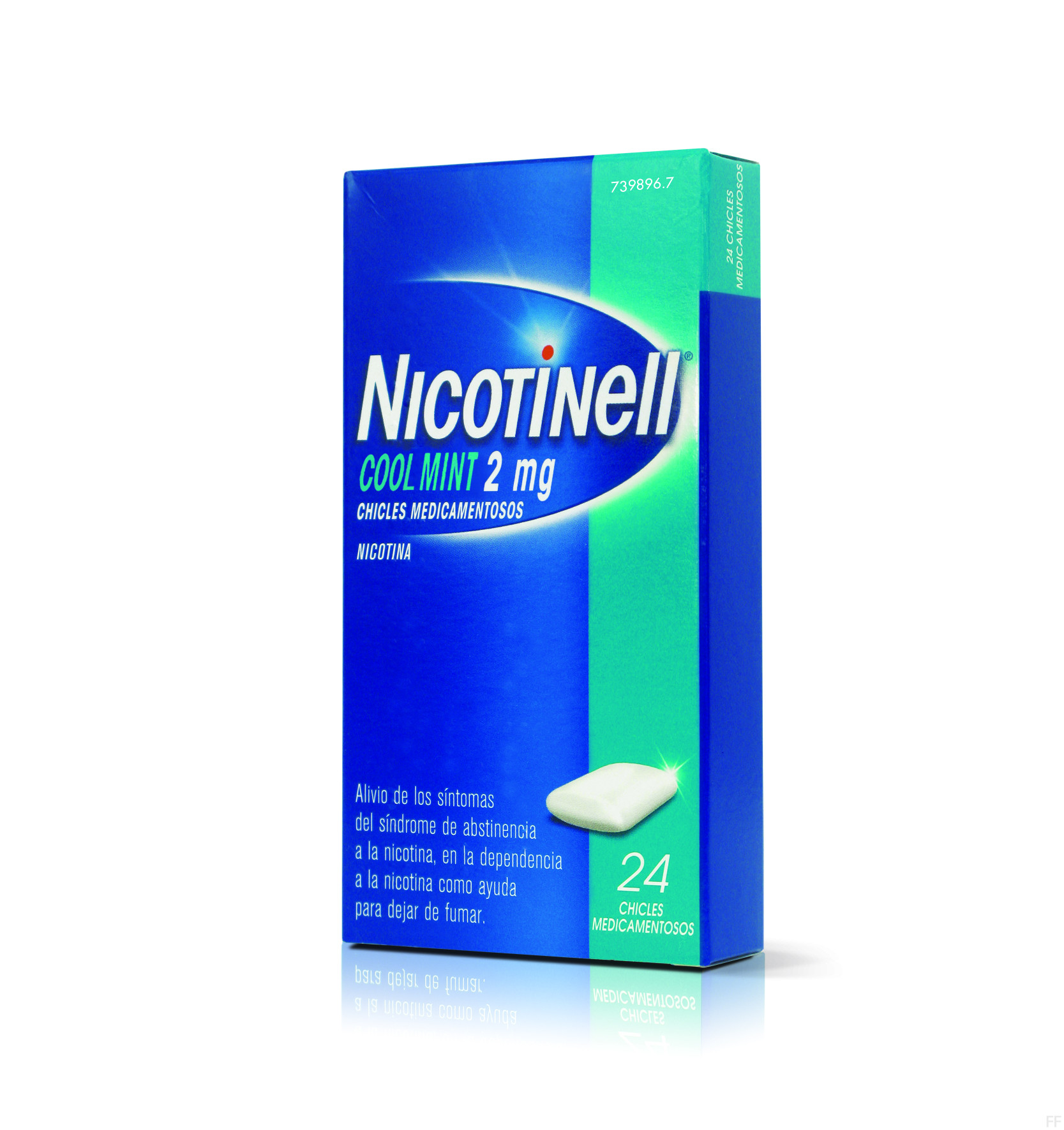 Nicotinell chicles cool mint 2 mg