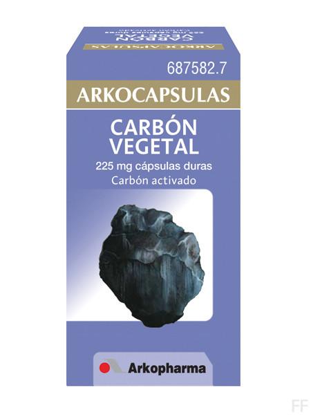 Arkocápsulas Carbón Vegetal