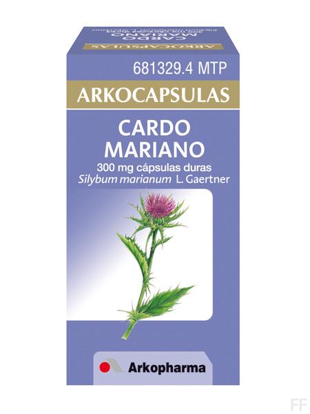 Arkocápsulas Cardo Mariano Silybum marianum