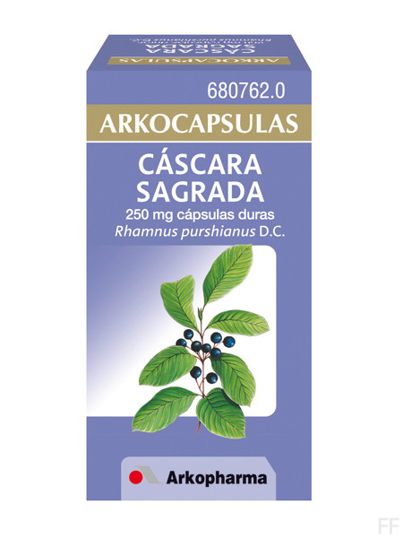 Arkocapsulas cascara sagrada