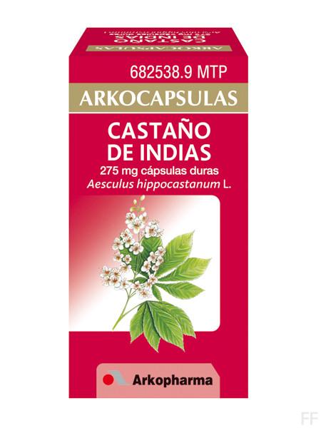 Arkocápsulas Castaño de Indias Aesculus Hippocastanum