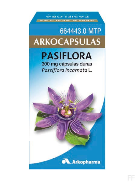 Arkocápsulas Pasiflora incarnata Arkopharma