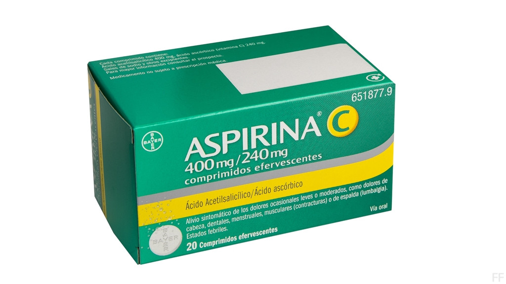 Aspirina  C 20 comprimidos