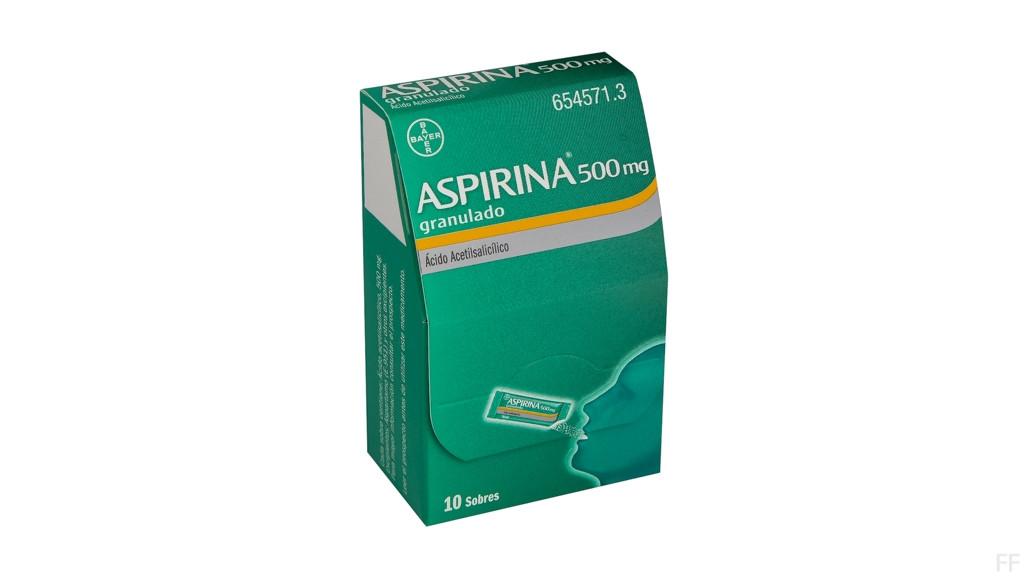 Aspirina 500 mg granulado