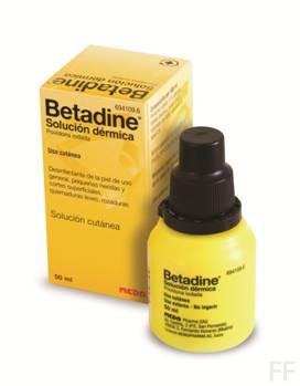 Betadine 10% solución