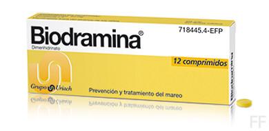 Biodramina 12 comp