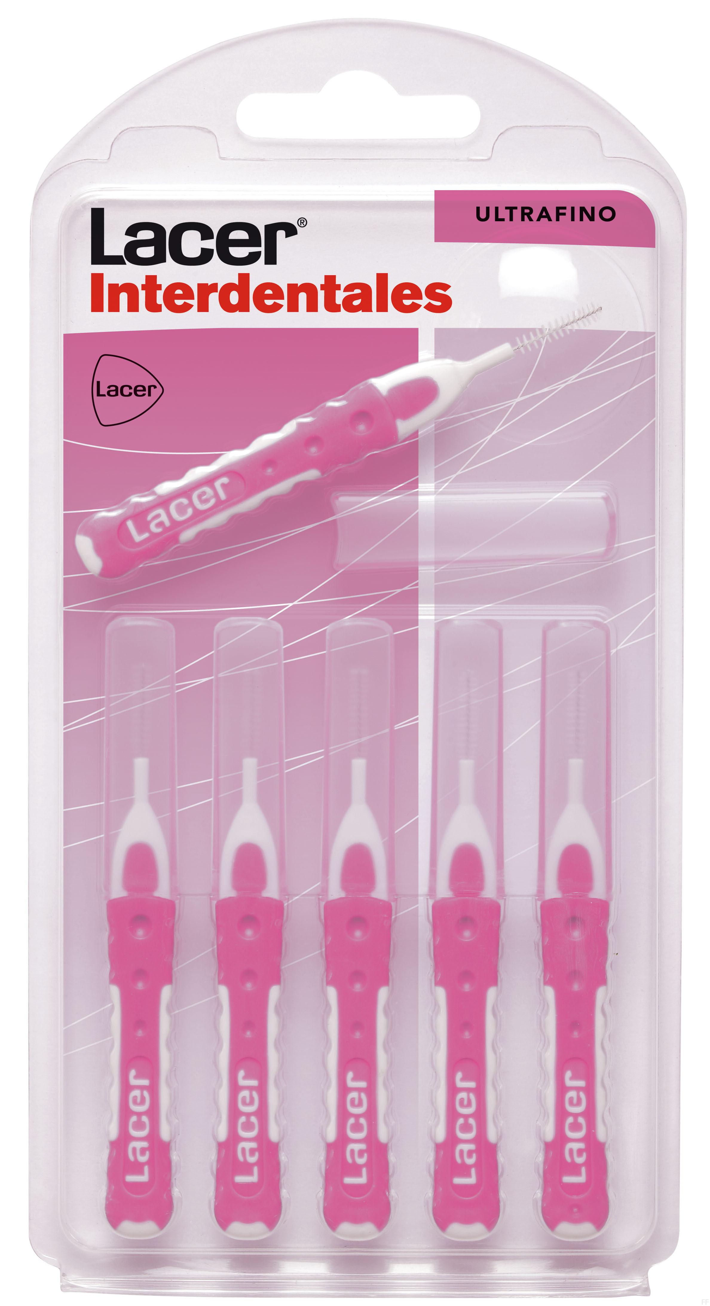 Lacer Cepillo Interdental Recto 6 Unidades