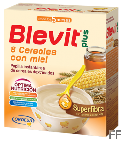 Blevit Superfibra 8 cereales con miel