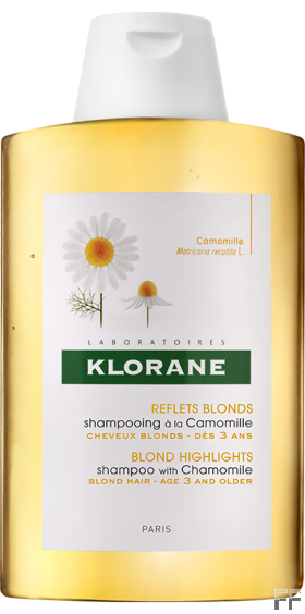 Klorane Champú Camomila para cabello rubio 400 ml
