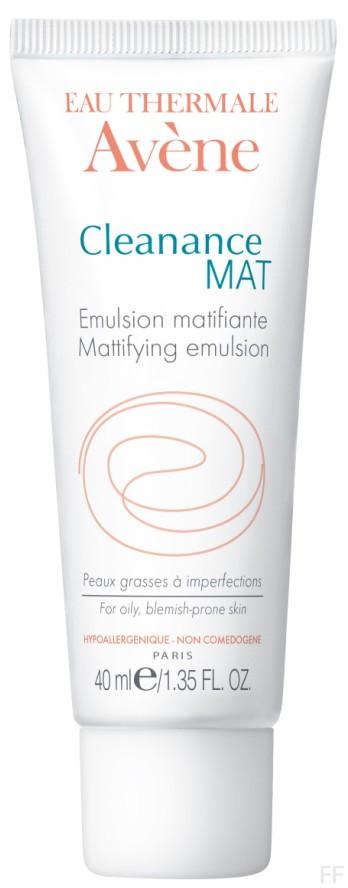 Cleanance Mat Emulsión matificante / Avene
