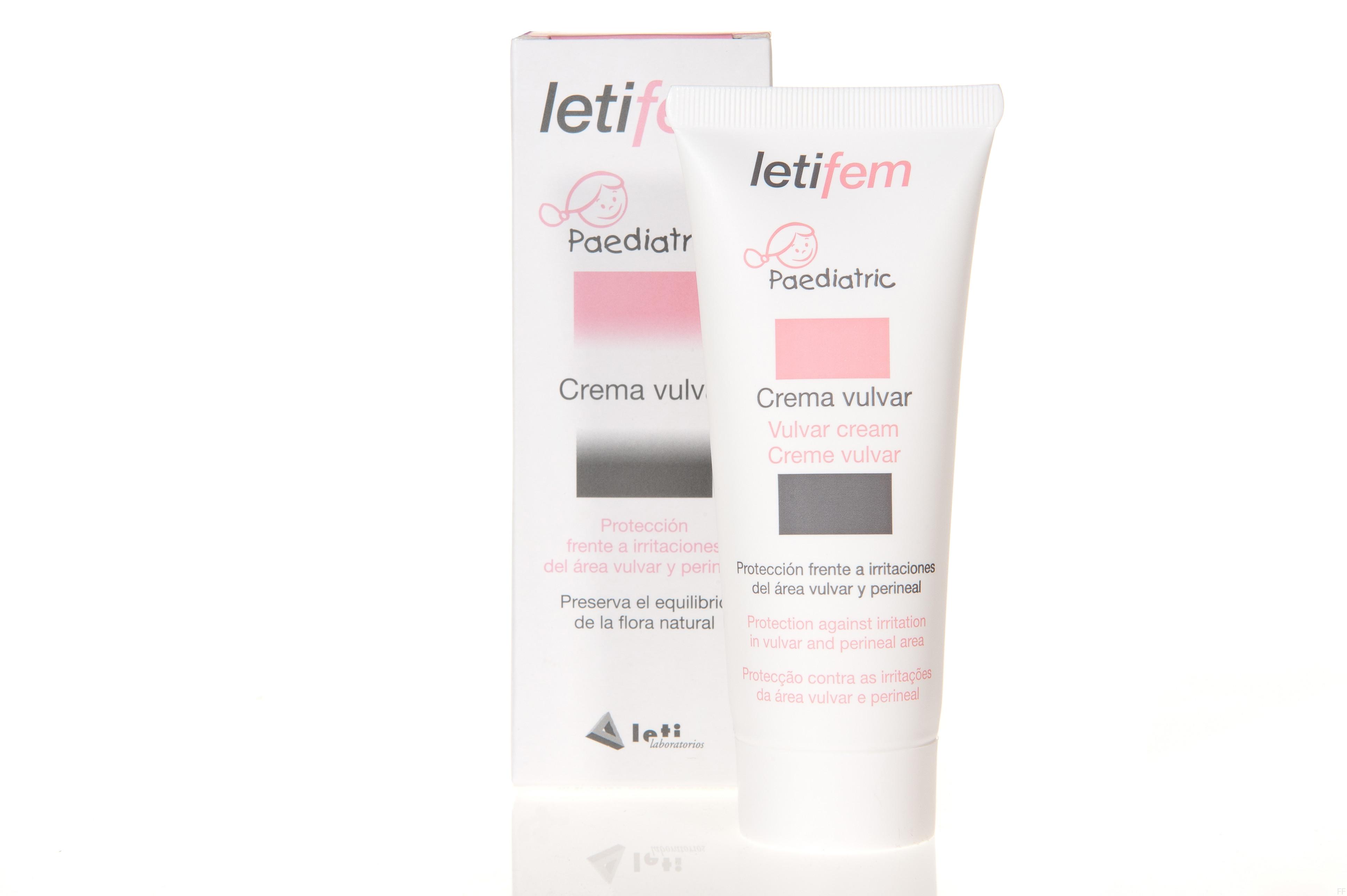Letifem Crema Vulvar Pediátrica 30 ml