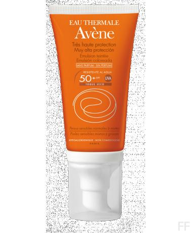 Avene Emulsion Coloreada SPF 50+ 50 ml