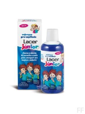 Lacer Junior enjuague pre-cepillado 500 ml
