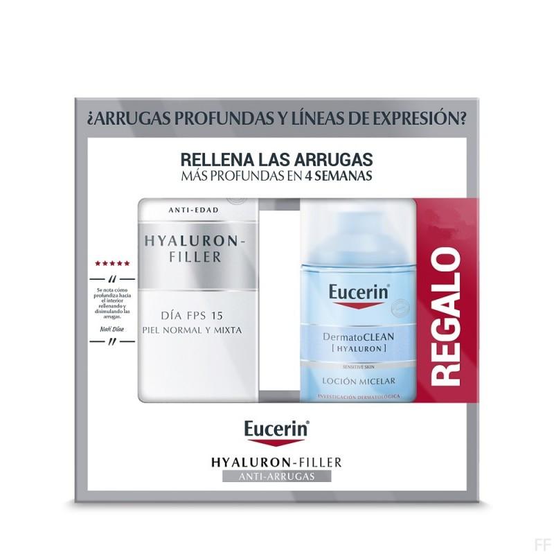 Eucerin Hyaluron Filler Día Piel Normal y Mixta 50 ml + REGALO Contorno de Ojos