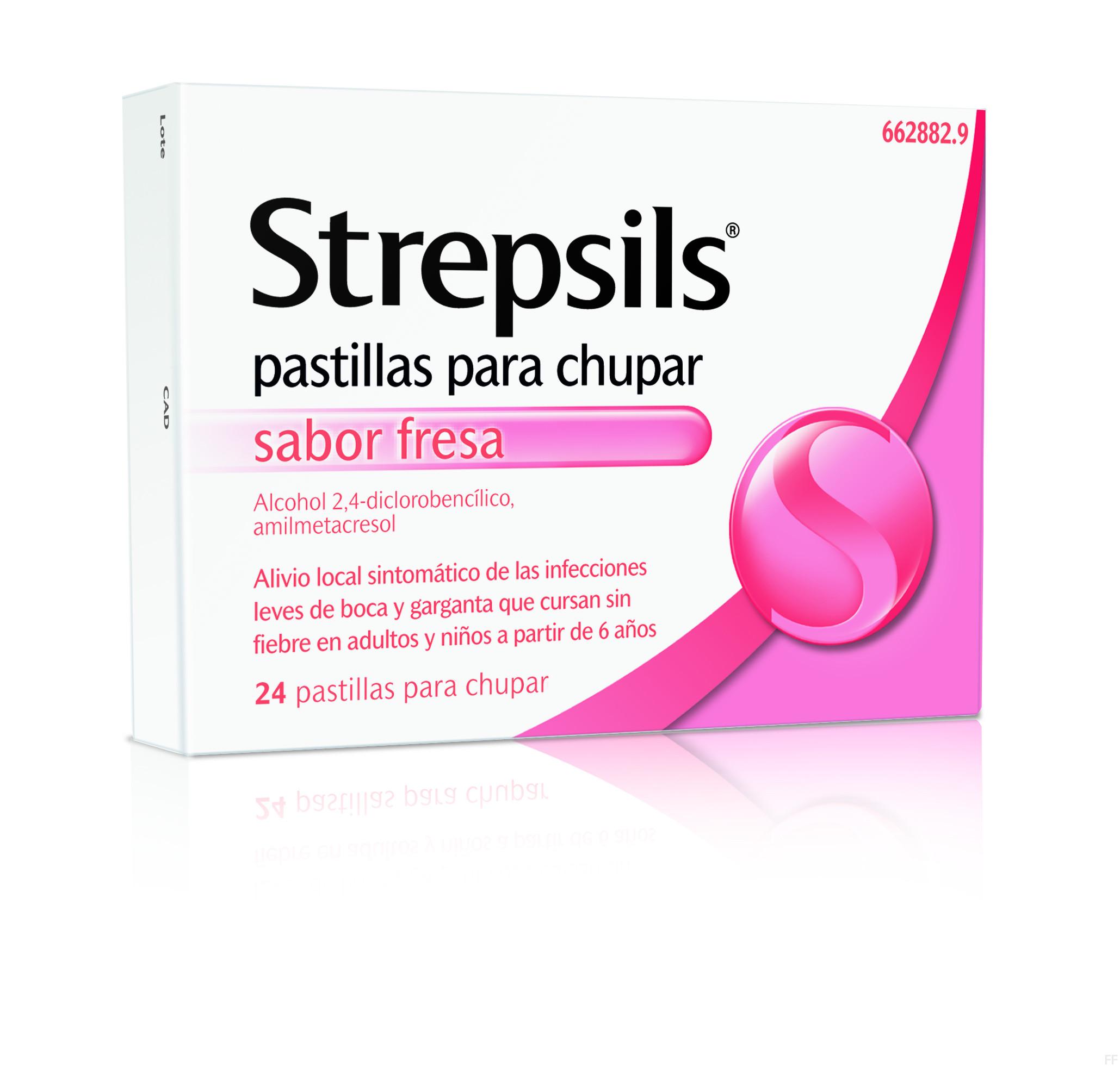 Strepsils Fresa