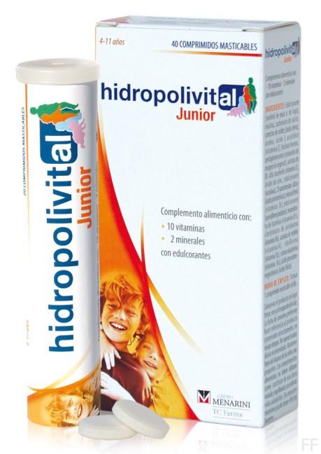 Hidropolivital Junior 40 comprimidos
