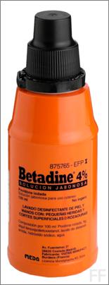 betadine 4%