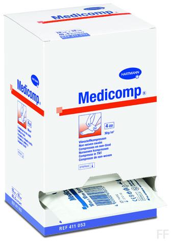 Hartmann Medicomp 50 Compresas 10cm x 20cm