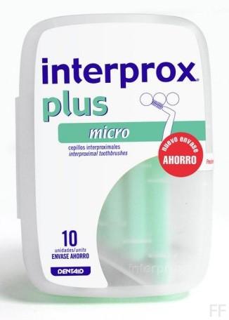 Interprox Plus Micro Cepillo interdental 10 unidades