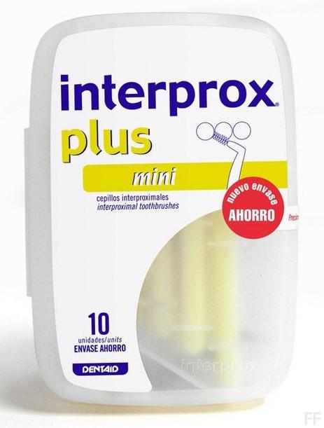 Interprox Plus Mini Cepillo interdental 10 unidades