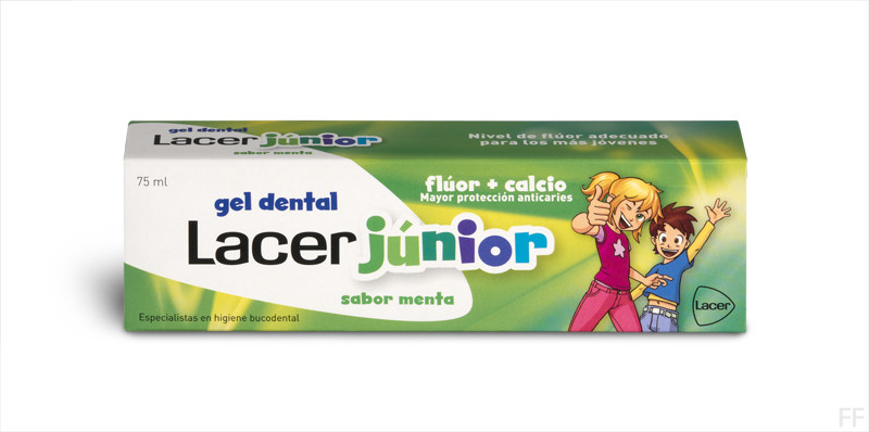 Lacer Junior Gel Dental Sabor Menta 75 ml