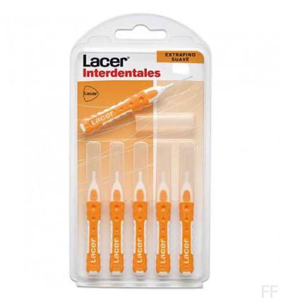Lacer Cepillo Interdental Extrafino suave Recto 0,5 6 unidades