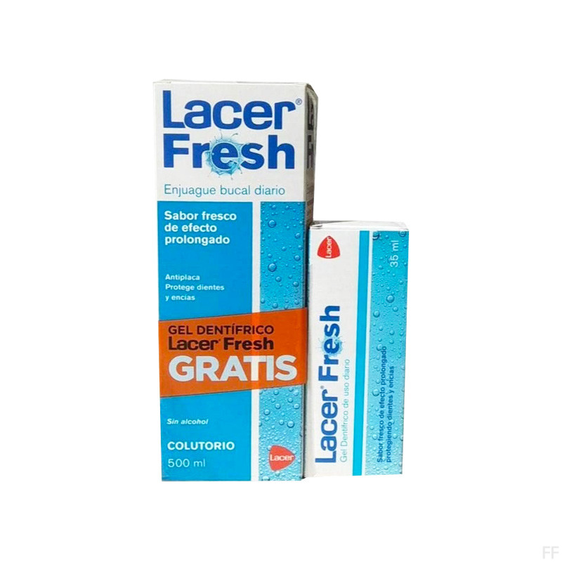 Lacer Fresh Colutorio 500 ml + REGALO Gel 35 ml