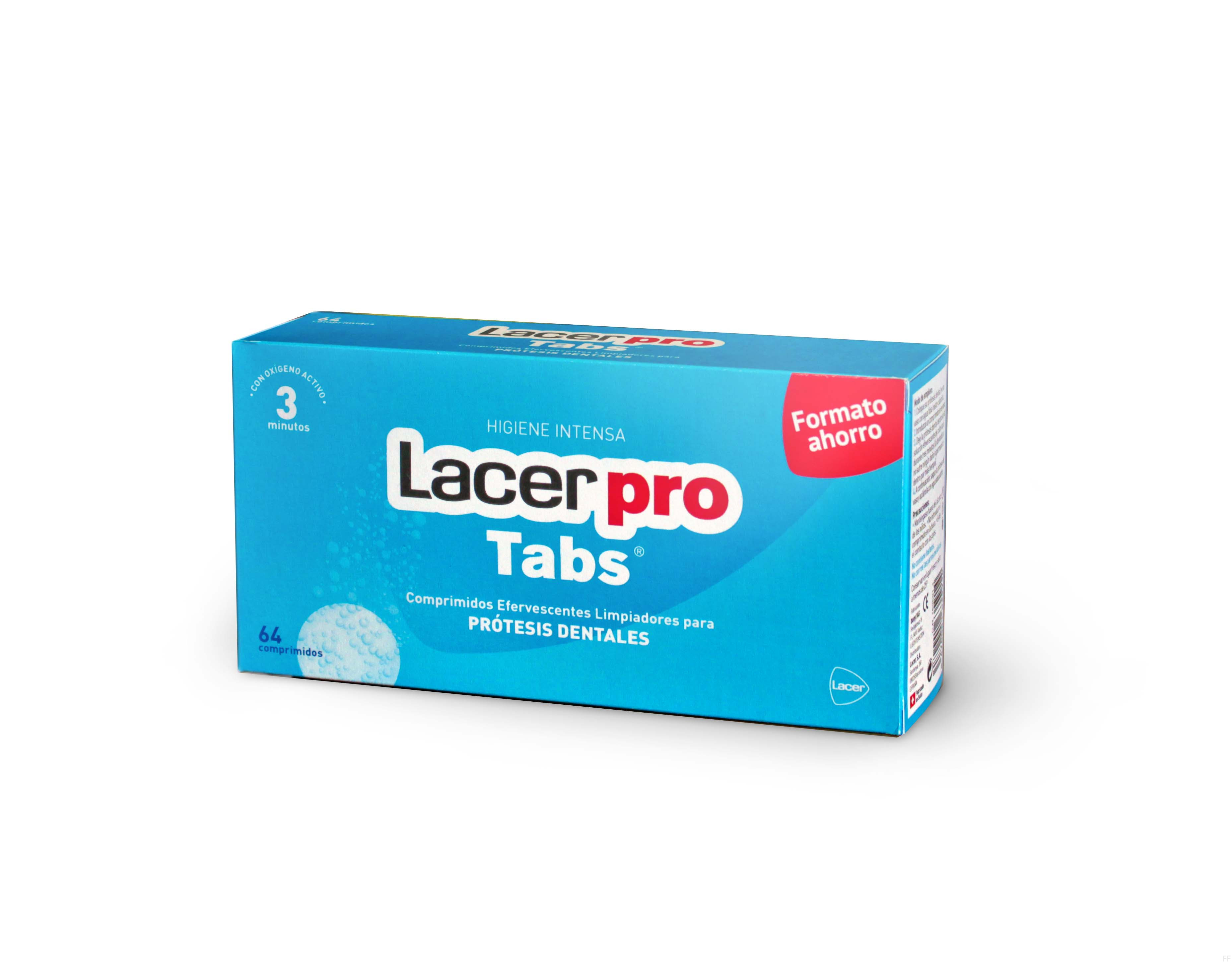 Lacer Pro Tabs 64 comprimidos efervescentes