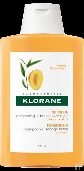 Klorane Champú Manteca de Mango para Cabellos secos 400 ml