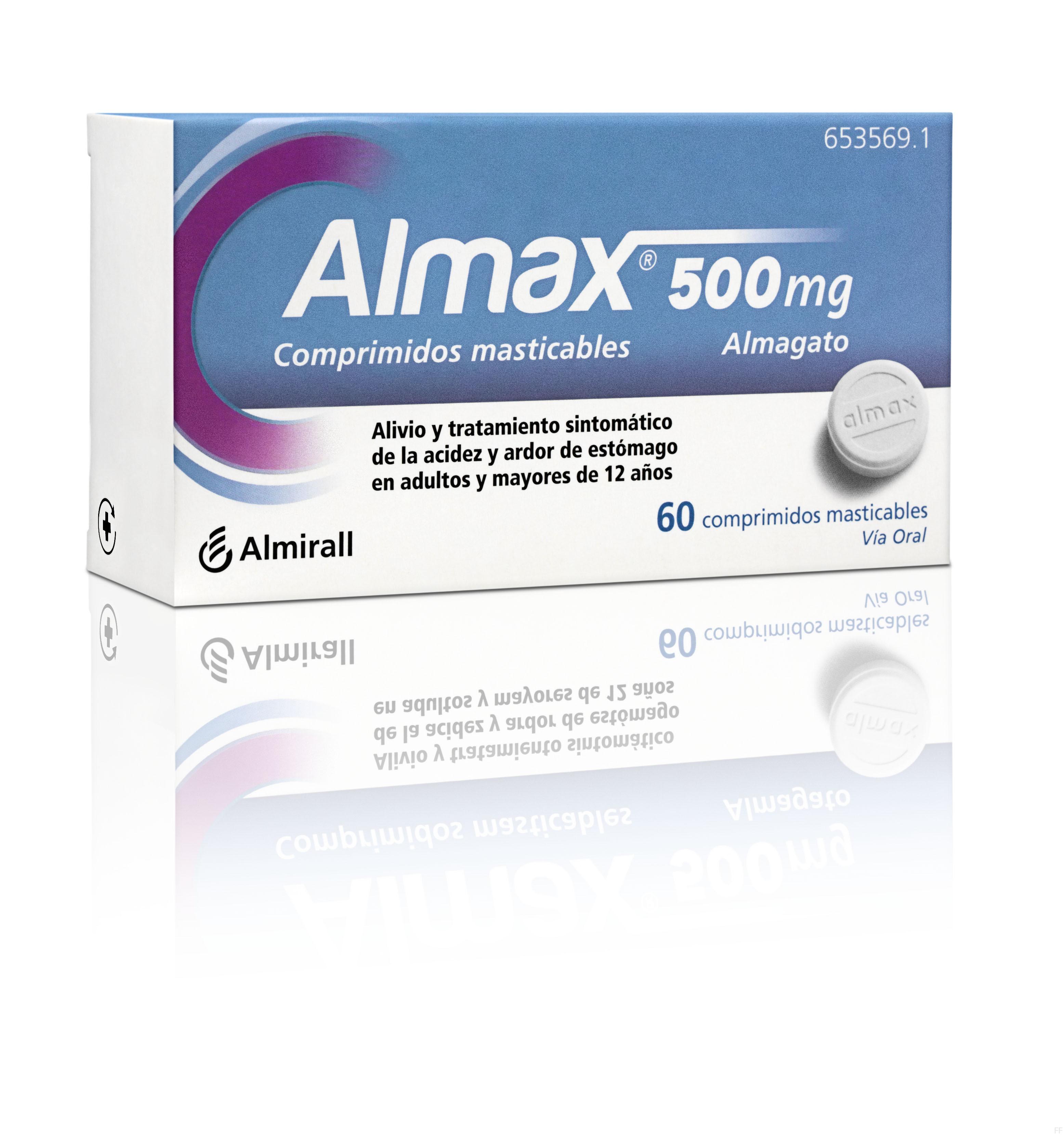 Almax 60 comprimidos masticables