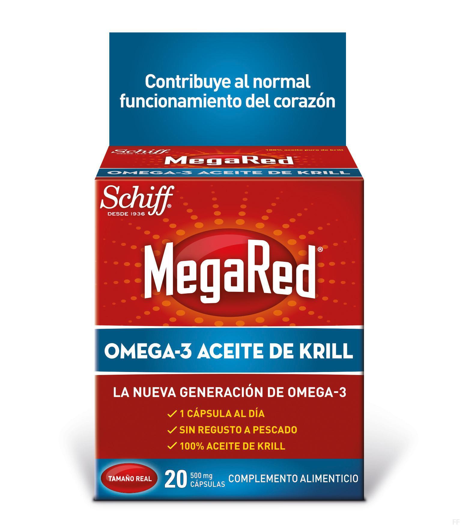 MegaRed Omega-3 Aceite de Krill