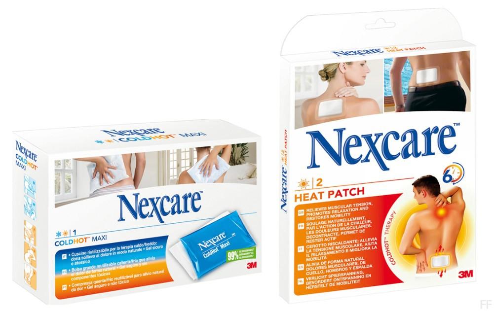 Nexcare Coldhot Maxi + Nexcare Parche Térmico -
