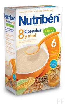 Nutriben 8 Cereales con Miel y 4 Frutas (600 g)