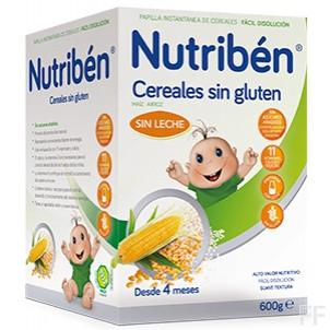 Nutriben Cereales Sin Gluen 600 g