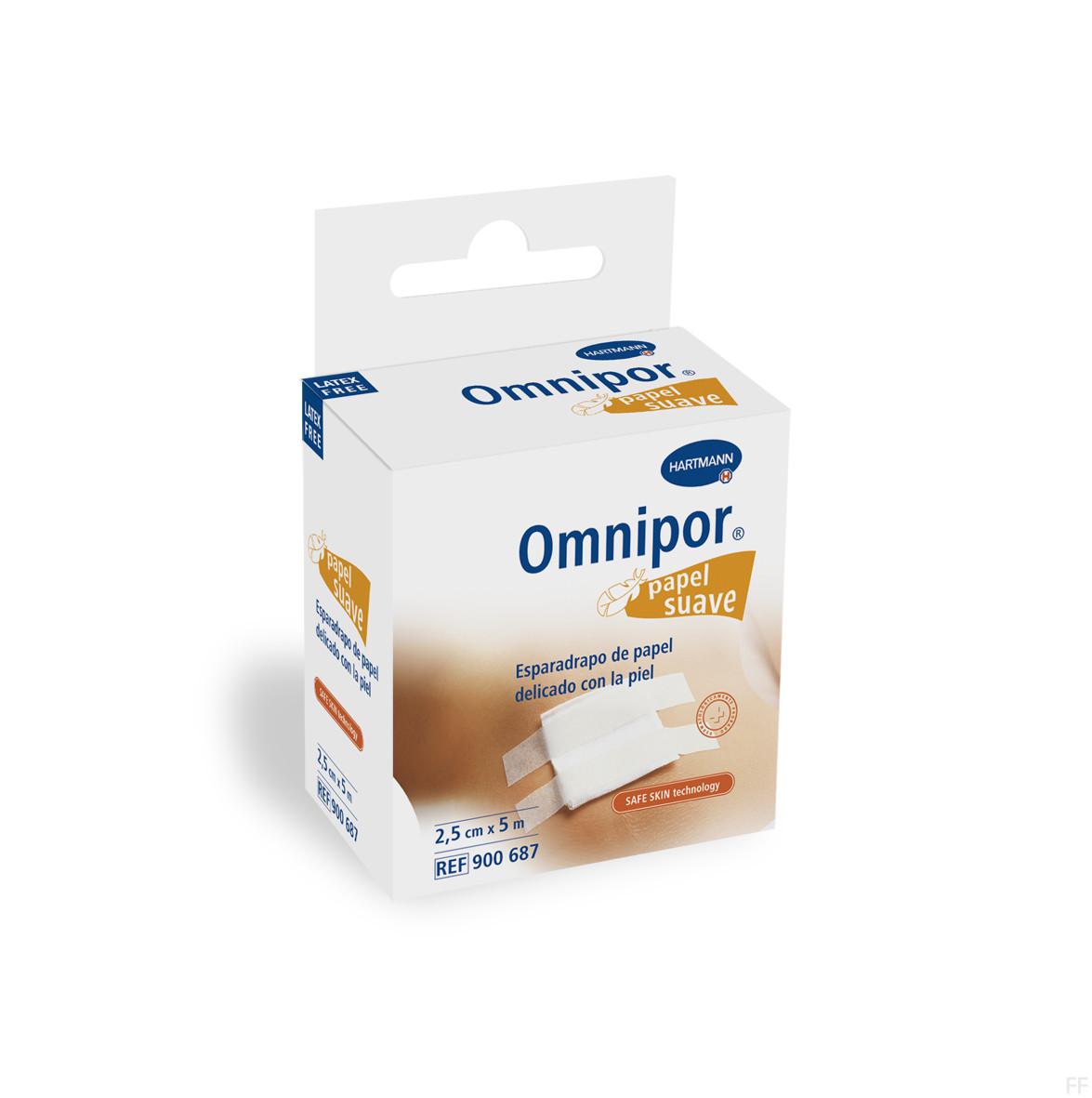 Hartmann Esparadrapo Omnipor 5m x 2.5cm