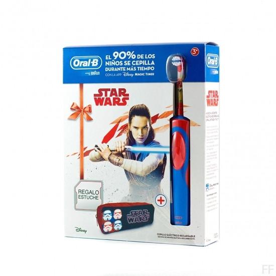 Oral B Cepillo eléctrico Stages Star Wars + REGALO estuche