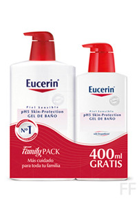 Eucerin Gel de Baño pH5 1000 ml + 400 ml GRATIS