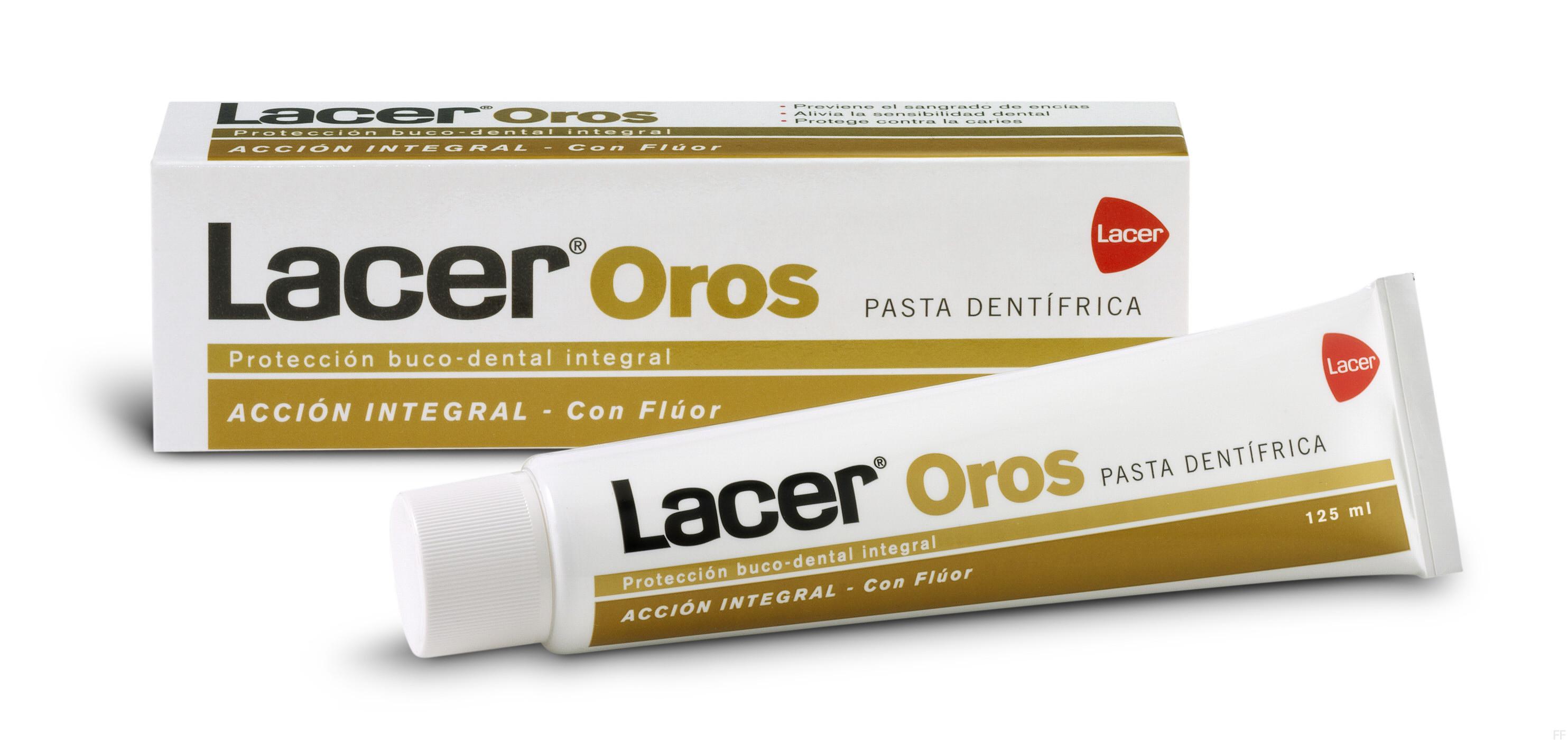 Comprar Lacer Oros Pasta Dentífrica 125 ml online. Envío gratis.
