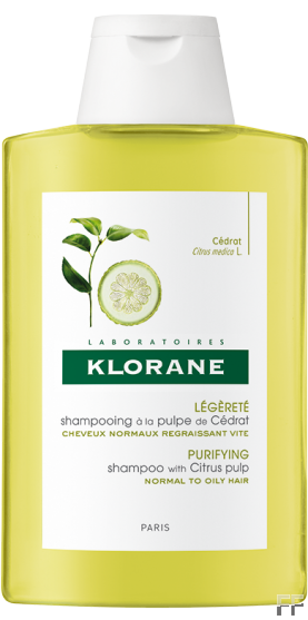 Klorane Champú Ligereza a la pulpa de Cidra 400 ml