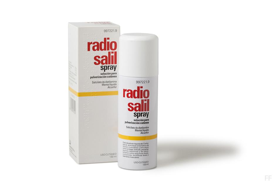 Radio salil spray