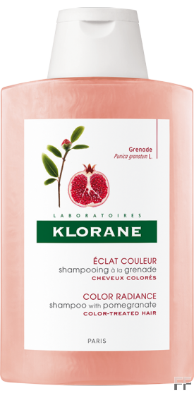 Klorane Champú a la Granada cabellos teñidos 400 ml