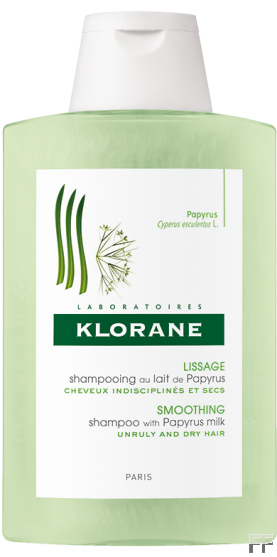 Klorane Champú Alisante con leche de Papiro 400 ml