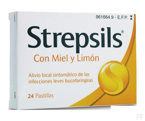 strepsils miel y limon